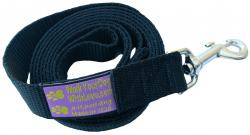 The Sportso Doggo Leash in Jet Black