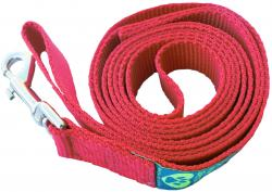 The Sportso Doggo Leash in Ruby Red