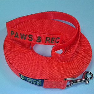Embroidered 30 Foot Leash